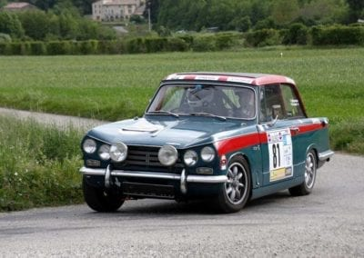 1969 TRIUMPH VITESSE MK2 RALLY CAR