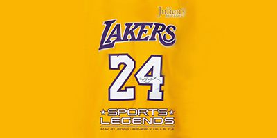 Julien's – 'Sports Legends' With Iconic Kobe Bryant Pieces