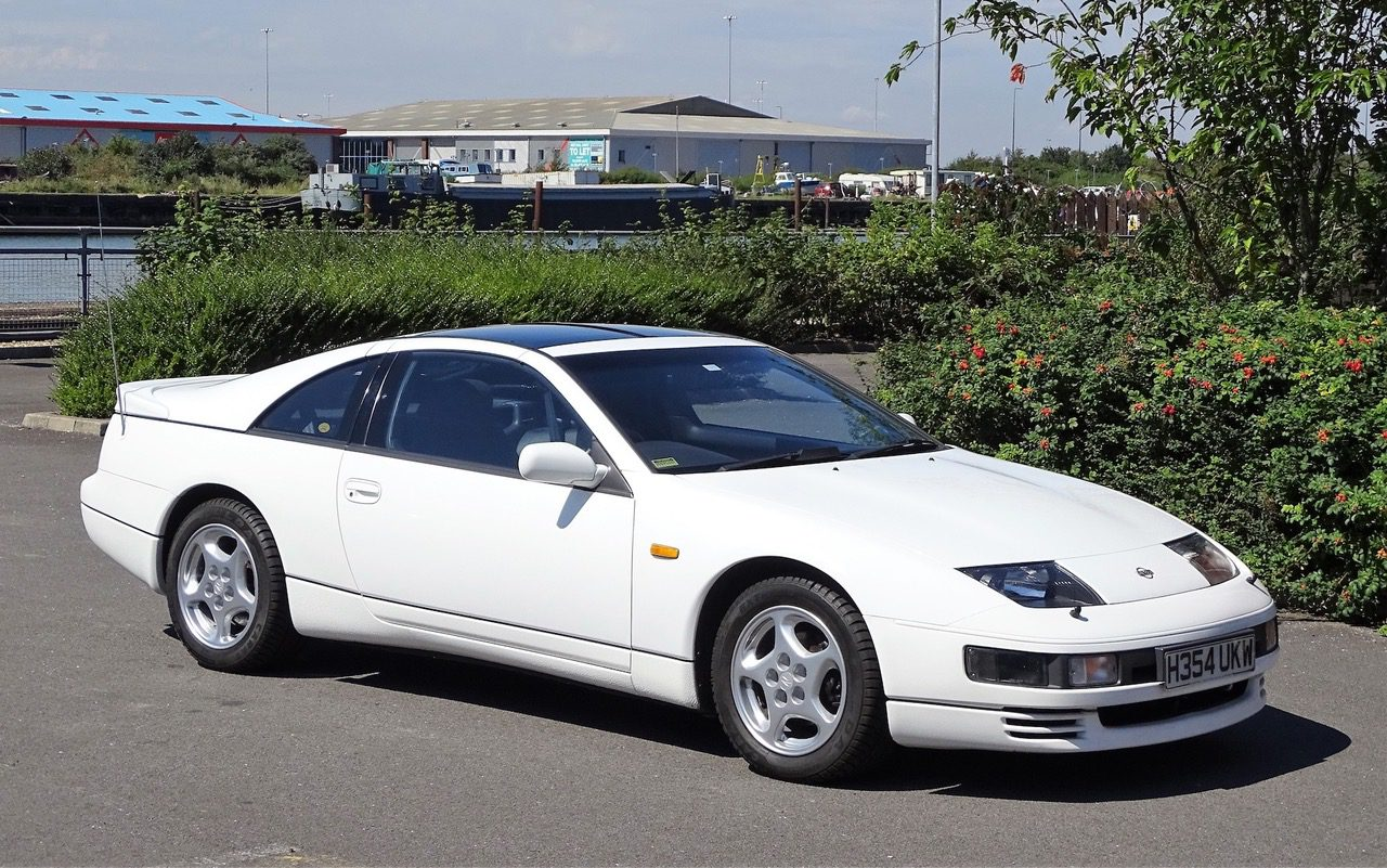 Japanese classic speed machine is this elegant 1991 Nissan 300 ZX Twin Turbo