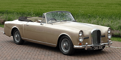 H&H Classics-1965 Alvis Drophead sold for £51,750