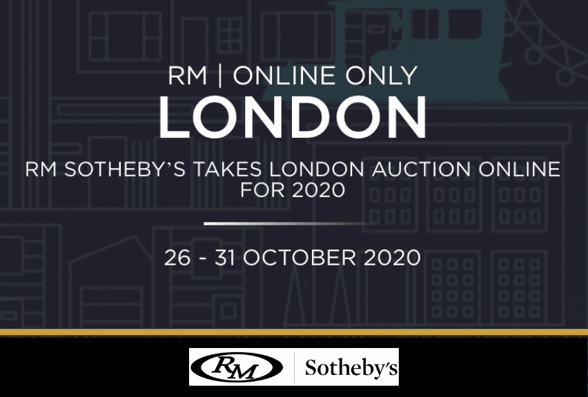 RM Sothebys London Online Auction