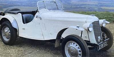 H&H Classics- 1938 Vauxhall 12hp Supercharged Trials Special