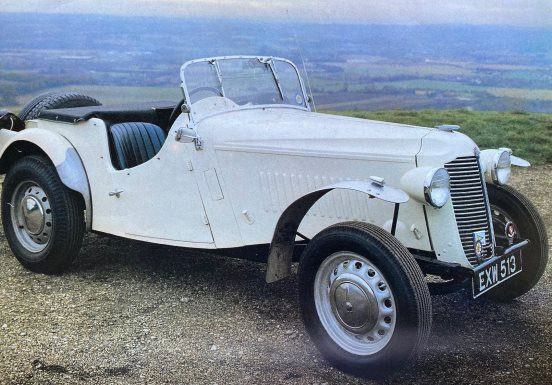 1938 Vauxhall 12hp Supercharged Trials Special