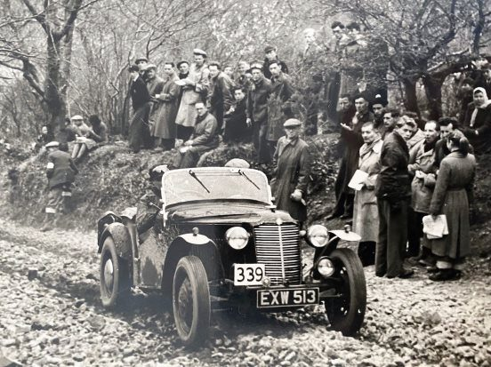Race Winning 1938 Vauxhall 12hp Supercharged Trials Special